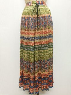 【USED】INDIA PRINT LONG SKIRT