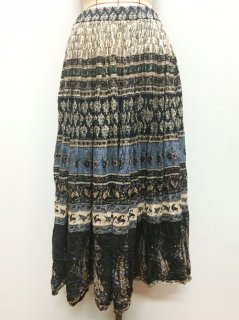 【USED】INDIA PAISLEY LONG SKIRT