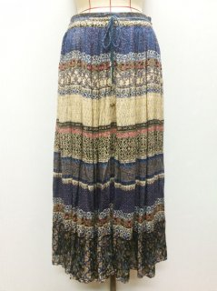 【USED】INDIA FLOWER SKIRT