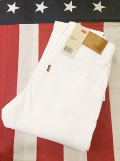 【NEW】LEVI'S High Rise Skinny Jeans Authentic White