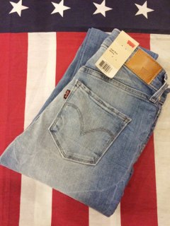 【NEW】LEVI'S High Rise Skinny Jeans Ariel-A