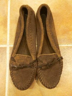 【USED】Minnetonka SUEDE MOCCASIN