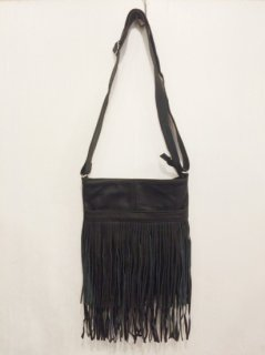 【NEW】LEATHER FRINGE SHOULDER BAG