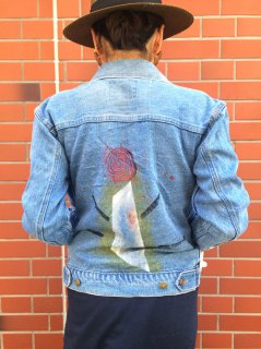 【USED】PEINT DENIM JACKET