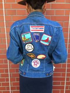 【USED】Wrangler PATCH DENIM JACKET