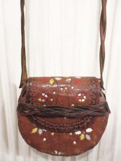 【USED】 LEATHER CARVING BAG