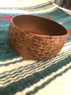 【USED】COPPER BANGLE
