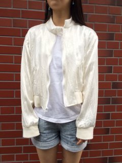 【USED】RalphLauren SATIN JACKET MADE IN U.S.A
