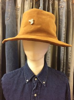 【USED】NUBUCK LATHER HAT