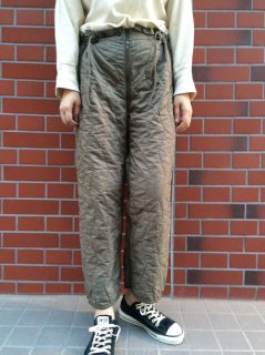 【USED】GERMAN ARMY QUILTED THERMAL TROUSER LINERS