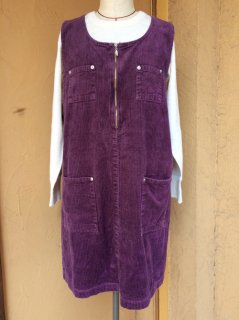 【USED】 CORDUROY DRESS