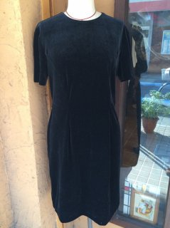 【USED】VELVET DRESS MADE IN U.S.A