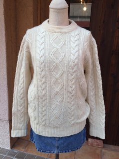 【USED】The Oysterman By ASTON FISHERMAN SWEATER