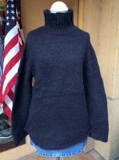 【USED】Nautica TURTLENECK ALPACA SWEATER