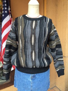 【USED】3D WOOL SWEATER