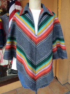 【USED】MEXICAN  PONCHO