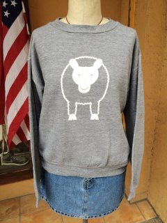 【USED】SHEEP PRINT SWEAT SHIRT