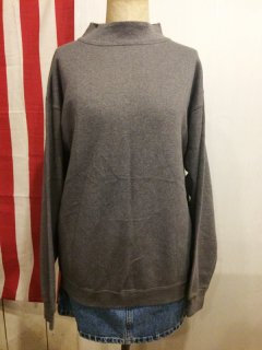 【USED】Hanes MOCK NECK SWEAT SHIRT