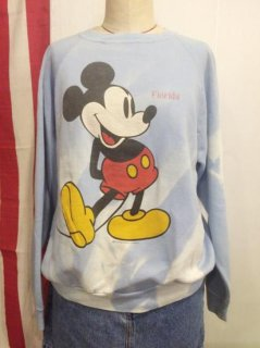 【USED】OLD Mickey Mouse Sweat Shirt