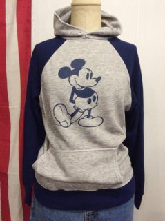 【USED】OLD Mickey Mouse Sweat Shirt Parka