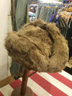 【USED】FAKE FUR BOMBER HAT