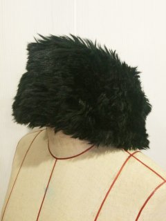 【USED】 FAUX FUR TURBAN
