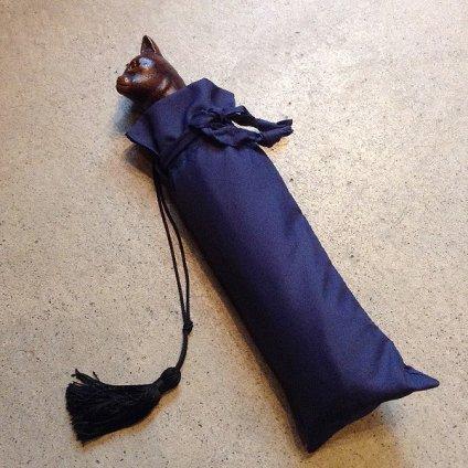 Guy de Jean (ギ ドゥ ジャン) 折りたたみ傘 猫 Red