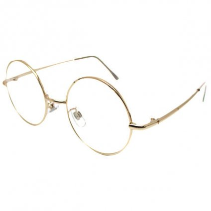 Loyd Sunglasses(丸眼鏡) for Japanese Gold×Clear