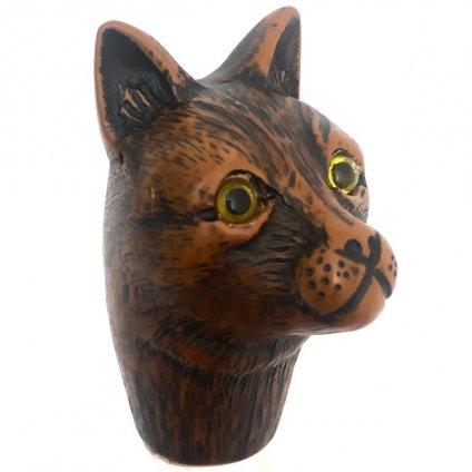 Guy de Jean(ギ ドゥ ジャン)折りたたみ傘 猫 Black