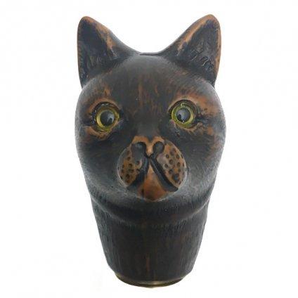 Guy de Jean (ギドゥジャン) 長傘 猫 Navy