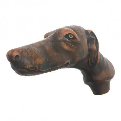 Guy de Jean (ギ ドゥ ジャン) 長傘 犬 Navy