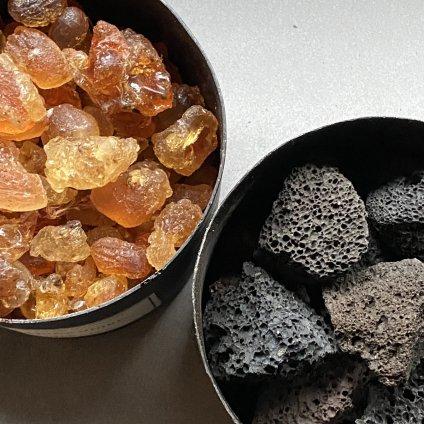 MAD et LEN Pot Pourri d'Apothicaire BLACK LAVA ROCK HUMUS(マドエレン ポプリ ブラック ラヴァロック フムス)