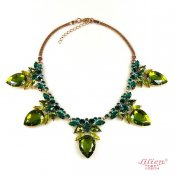 LILIEN(リリアン)Olive Green Necklace