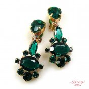 LILIEN(リリアン)Emerald Green Earring