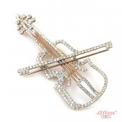 LILIEN(リリアン)Violin Brooch