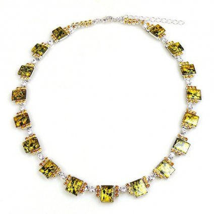 LILIEN(リリアン)Yellow Square Necklace