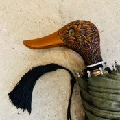 Guy de Jean (ギドゥジャン) 折りたたみ傘 カモ Khaki