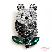 LILIEN(リリアン)Little Panda Brooch