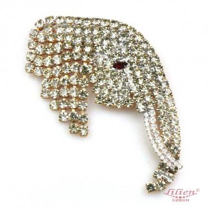 LILIEN(リリアン)Elephant Brooch