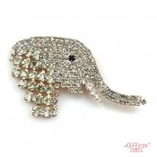 LILIEN(リリアン)Little Elephant Brooch