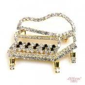 LILIEN(リリアン)Little Piano Brooch