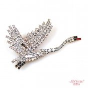 LILIEN(リリアン)White Swan Brooch