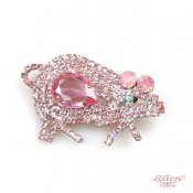 LILIEN(リリアン)Pig Brooch