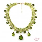 LILIEN(リリアン)Moss Green Necklace