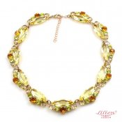 LILIEN(リリアン)Yellow Marquise Necklace