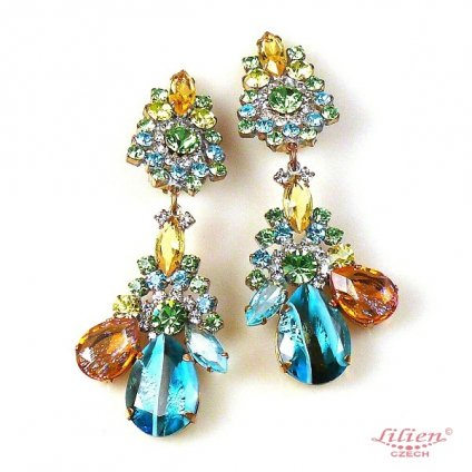 LILIEN(リリアン)Rain Drops Swing Earring
