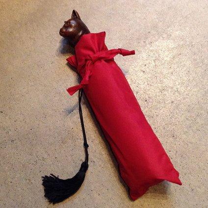 Guy de Jean(ギ ドゥ ジャン)折りたたみ傘 猫 Navy