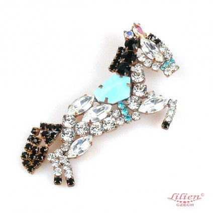 LILIEN(リリアン)Jumping Horse Brooch