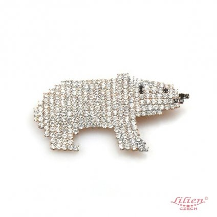 LILIEN(リリアン)Little Polar Bear Brooch