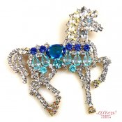 LILIEN(リリアン)Blue Horse Brooch